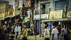 Livelihood - Kaveripattinam, India (Kartik Kumar S) Tags: india children circus rope incredible tamilnadu ropewalking kaveripattinam