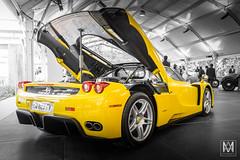 Ferrari Enzo (*AM*Photography) Tags: auto como car yellow italian nikon automobile european ferrari special exotic enzo supercar cernobbio v12 d3200 villaerba hypercar rmauctions worldcar worldcars