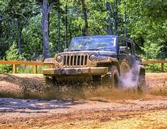 Uwharrie National Park 'Go Topless Day' (Harley Hank) Tags: forest canon fun jeep mud offroad 4x4 outdoor northcarolina dirty eldorado trail nik splash wheeling motorsport lightroom t3i rubicon uwharrie usfs ohv mickeythompson gotoplessday dickeybell ncautoinc
