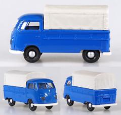 BRE-3290-VW-T1-Pickup (adrianz toyz) Tags: vw volkswagen t1 pickup 187 scale model ho brekina aircooled