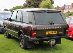 F537 ENG (Nivek.Old.Gold) Tags: auto se rover vogue 1989 range 3528cc pillingvolvo