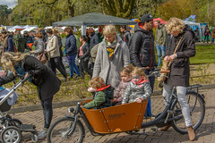 mothers (stevefge (away travelling)) Tags: park girls people netherlands kids nijmegen women kinderen mother nederland bikes bicycles goffertpark koningsdag kingsday nederlandvandaag reflectyourworld