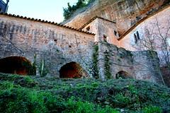 Pont d'entrada al Puig de la Balma, Mura. (Angela Llop) Tags: bridge spain catalonia mura