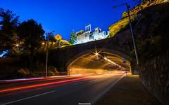Plovdiv | Blue Hour (Dimensionall) Tags: blue light photography long exposure trails hour plovdiv