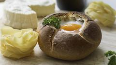 Comme un trsor en son crin (bruno.quercia) Tags: simple nourriture pate camembert cocotte oeuf repas dejeuner culinaire