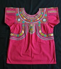 Zapotec Blouse Guiloxi Oaxaca (Teyacapan) Tags: mexican textiles bordados oaxacan blouses blusas zapoteco guiloxi