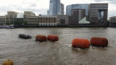 HMS Belfast big buoys (sarflondondunc) Tags: london londonbridge artemis buoys riverthames southwark
