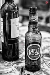 In Bw because  love it !!! Portuguese Flavors ,  Superbock beer and Terras del Rey Wine ... What else !! (miguel.santos.1029) Tags: blackandwhite bw portugal beer reflections bottle wine cerveja pretoebranco rei vinho terras bwphotography flavors portuguesa superbock bwphoto blackandwhitephotography tinto sabores blackandwhitephoto alentejano blackandwhiteshots bwshot fotografiapretoebranco bwlovers beerlovers portugueseflavours blackandwhitelovers del pretoebrancofotografia terrasdelrei