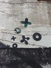 public display of affection (DREASAN) Tags: streetart berlin wall o kisses x hugs symbols beton dreasanpics