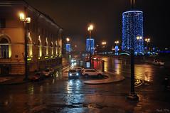 2015-12-18-21-36_ St Petersburg_Russia_26.jpg (Mandir Prem) Tags: winter abstract macro reflection texture window glass rain stpetersburg drops colours russia places cristmas 2015