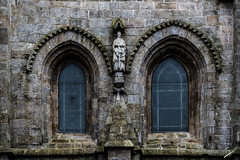 it seems, but nothing is symmetrical (jcfasero) Tags: catedral tui tuy piedra stone cathedral pontevedra galicia espaa spain church ngc ciudad city sony rx100