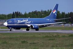 Bluebird Cargo TF-BBG, OSL ENGM Gardermoen (Inger Bjrndal Foss) Tags: norway cargo bluebird boeing osl gardermoen 737 engm tfbbg