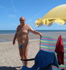 Soaking up the sun (pj's memories) Tags: huttoft beach briefs seaside slip speedo