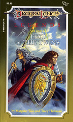 Novel-Weis&Hickman-Test-of-the-Twins (Count_Strad) Tags: dragons adventure elf fantasy novel dungeons tsr dragonlance