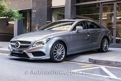 Mercedes - Benz CLS 350 BT  Coupè AMG - 252 c.v - Plata Paladio - Piel Negra