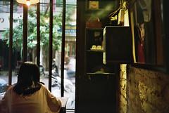 café (InSoManyWords) Tags: film 35mm fujisuperia200 rollei35 vietnam hanoi café congcaphe