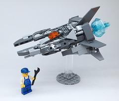 LEGO Nemesis VIC VIPER-20 (ToyForce 120) Tags: lego robot robots mecha mech mechanic legomech legomoc nemesis vicviper starfighter