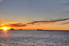 Dream about (Lorybusin) Tags:  colores barcos puestadelsol mar sea mare tramonto colori orizzonte paesaggi panorama landscape sky boats sunset orange cloudsporn clouds color