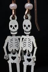 E is for Earring (ertolima) Tags: macromondays beginswiththefirstletterofmyname hmm macro skull skeleton