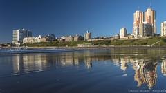 """Playa Espejo"" - ""Beach Mirror"" (marcos.h_alvarez) Tags: playaespejo beachmirror playavarese mardelplata argentina reflejos reflexes beach espejo"