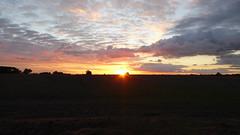 Sunset over Barrington (Nobbby) Tags: sunset barrington cambridge shire england field nature uk gb cambs evening sky