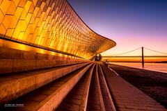 Museum (Luis Sousa Lobo) Tags: img6173 maat museu lisboa belém ponte salazar bridge rio river tejo tagus tajo canon 70d 1018 portugal sunrise amanhecer