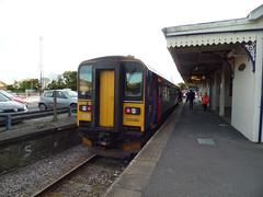 153380 Liskeard (4) (Marky7890) Tags: gwr 153380 class153 supersprinter dmu 2l90 liskeard railway cornwall train looevalleyline