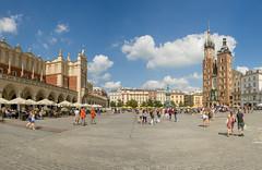 double take (stevefge) Tags: krakow poland oldtown summer squares people reflectyourworld