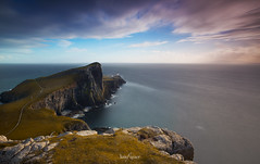 Neist Point Lighthouse (Luis Figuer) Tags: seascapelongexposure neistpoint lighthouse isleofskye scotland long exposure largaexposicion isladeskye