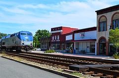 Downtown Ashland (pjpink) Tags: amtrak train travel smalltown railroad tracks ashland cotu virginia september 2016 summer pjpink