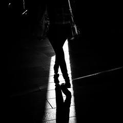 Crossing Lights (Fuji and I) Tags: blackandwhite street light contrast london ealing alexarnaoudov fujix