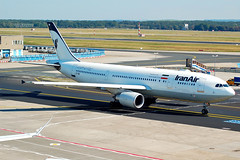 IRANAIR A300 EP-IBB (Adrian.kissane) Tags: iranair a300 frankfurt epibb 727