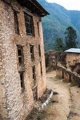 Drukgyel Dzong (whitworth images) Tags: ancient rammedearth administration asia large himalaya himalayas bhutan walls government stone traditional fortress ruins travel monastery ruined paro architecture drukgyeldzong broken old dzong bhutanese parodzongkhag