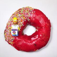 Doughnuts #lego (mattosborne325) Tags: minifigs minifig minifigure minifigures homer doughnut doughnuts lego
