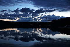 Naevekvarn (markus_kaeppeli) Tags: sunset harbour hafen cloud wolken
