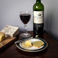 Thur 22-Apr (112 / 365 / 2015) - Cheese and wine (Steev McAlister) Tags: stilllife cheese day wine event 365 dates edition 112 day112 2015 112365 day112365 365the2015edition 3652015 22apr15