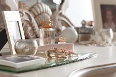 boudoir ([o] suze q) Tags: pink orange silver photography gold mirror spring perfume boudoir dresser repurposing springcleaning rosegold afewofmyfavoritethings mercuryglass toryburch dustaddsalovelymattefinish lovingthelighttho