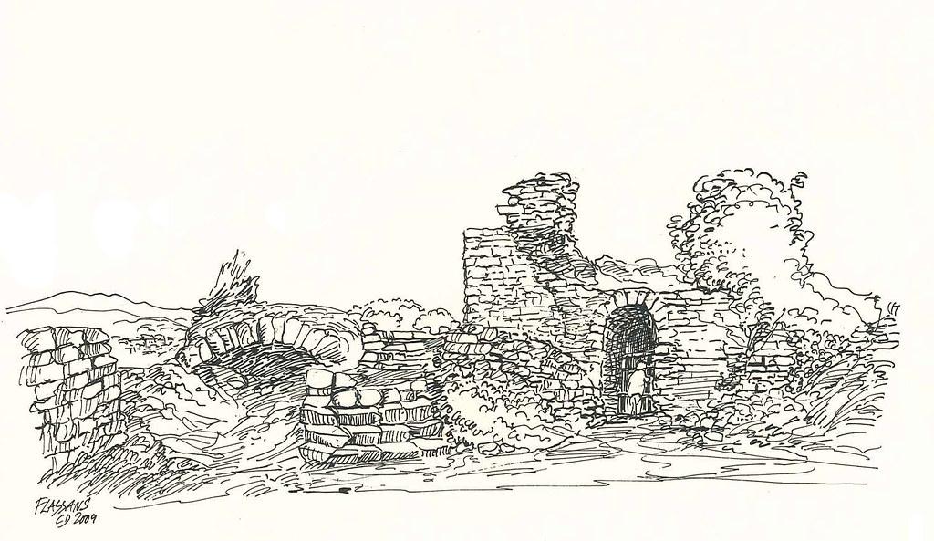 Ruines du Vieux Village - La Citerne