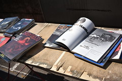 Old photography books (xxx-NICO-xxx) Tags: magazine photo pub asahi pentax ad 6x7 march publicit