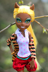 Sunny Day (KiVI4.) Tags: monster high wolf doll mh clawdia monsterhigh clawdiawolf apackofthouble