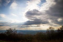 Rays (oliyh - facebook.com/oliverhinephotography) Tags: holiday mountains walking landscape scenery hiking hills views malvern worcestershire range