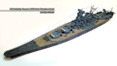 IJN Battleship Yamato | 1:700 Scale Waterline Model (AC Studio) Tags: world show 2 two scale japanese construction model war ship expo navy australian award hobby best plastic ii winner ww2 imperial battleship yamato 2008 making waterline warship 1700 ijn