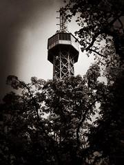 Petřín Lookout Tower (Deydodoe) Tags: tower europe czech prague praha czechrepublic iphone 2015