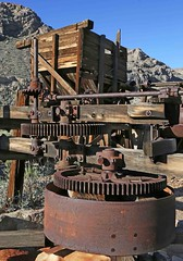 Gold Hill Mill / Death Valley (Ron Wolf) Tags: california mill nationalpark structure historic mining machinery deathvalleynationalpark warmspringscanyon