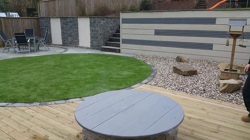 Landscape Gardening Macclesfield - Modern Family Garden Image 2
