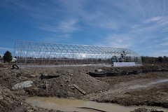 A wide view of progress on Greenhouse (ed dittenhoefer photo) Tags: coltivare farmtobistro tc3barn
