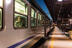 Il treno alla stazione ferroviaria di Udine IMG_6750-1 (gianni.giacometti) Tags: italia stazione treno notte sera citt friuli udine treni
