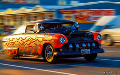 1950 Ford (kenmojr) Tags: auto show cruise classic ford car vintage drive driving antique cruising newbrunswick moncton vehicle customized custom 1950 centennialpark kustom 2014 mountainroad ledsled mountainrd atlanticnationals kustomized