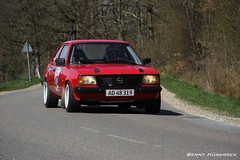 Opel Ascona (Benny Hünersen) Tags: auto car race climb ascona hill bil opel hillclimb gl skørping