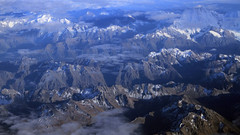 The Southern Alps of New Zealand are striking [3840x2160] (4K and 2K Wallpapers) Tags: wallpaper scenery widescreen hires wallpapers 169 4k 2k 3840x2160 2560x1440 wqhd
